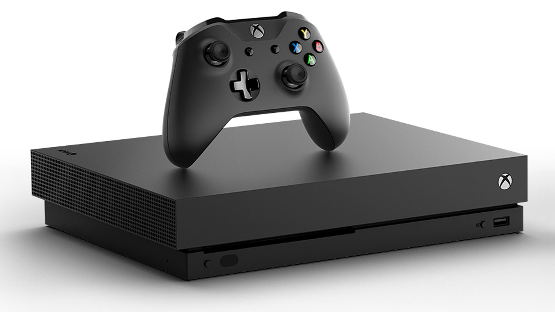 Xbox One X, con joypad